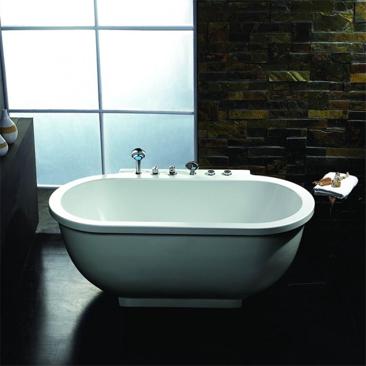 EAGO Whirlpool Massage Bathtub Free Standing