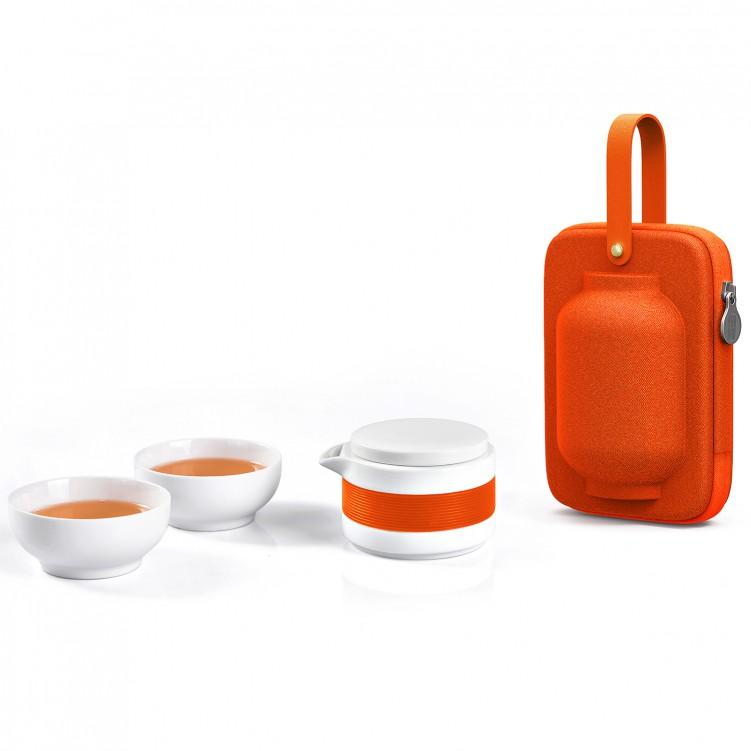 Hua Deng Kung Fu Mini Drinking Travel Tea Mug Porcelain Tea Cup Set with Portable Bag  sc 1 st  Lesso Home & Hua Deng Kung Fu Mini Drinking Travel Tea Mug Porcelain Tea Cup Set ...