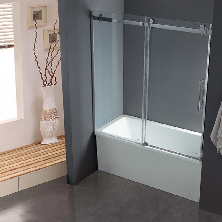 Bypass Sliding Bathtub Glass Shower Cabins for Shower - Shower Rooms ...