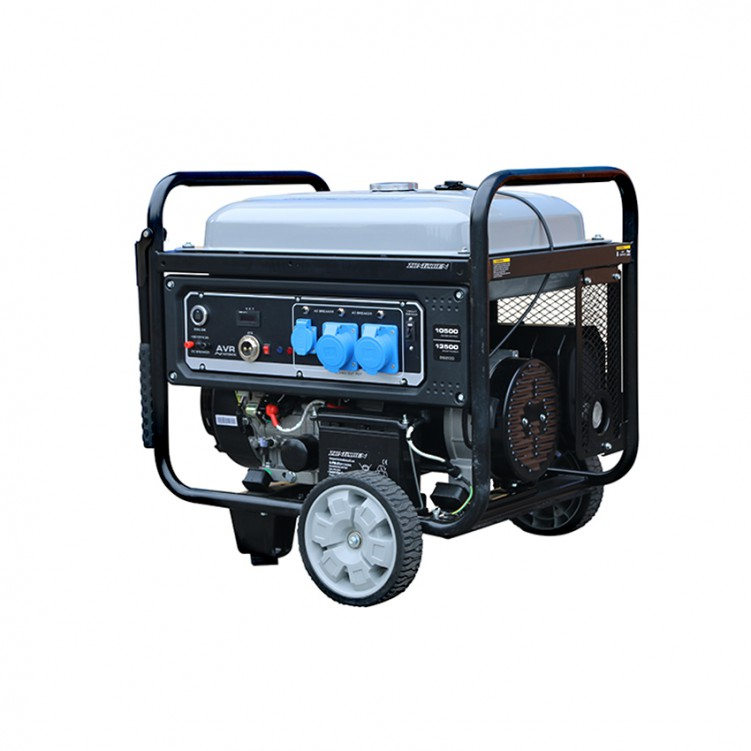 Single Cylinder Gasoline Generator, Max Power 11KW, Rated Power 10KW