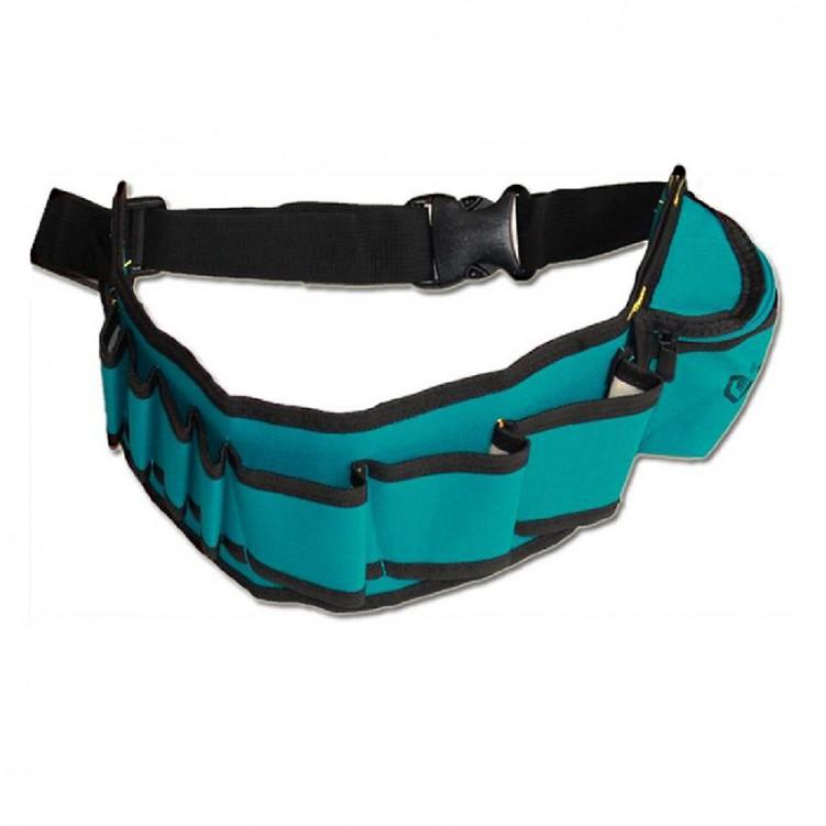 Tool Waist Bag Black&Blue Green