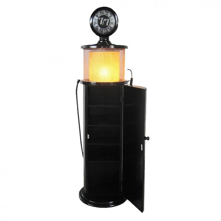 Gas Pump CD Rack with Light