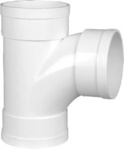 88° Sanitary Tee White, BS Standard PVC-U Drainage