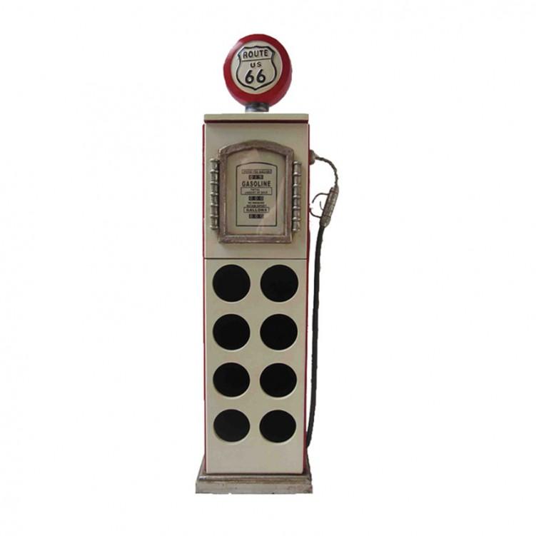 Gas Pump Wine Rack