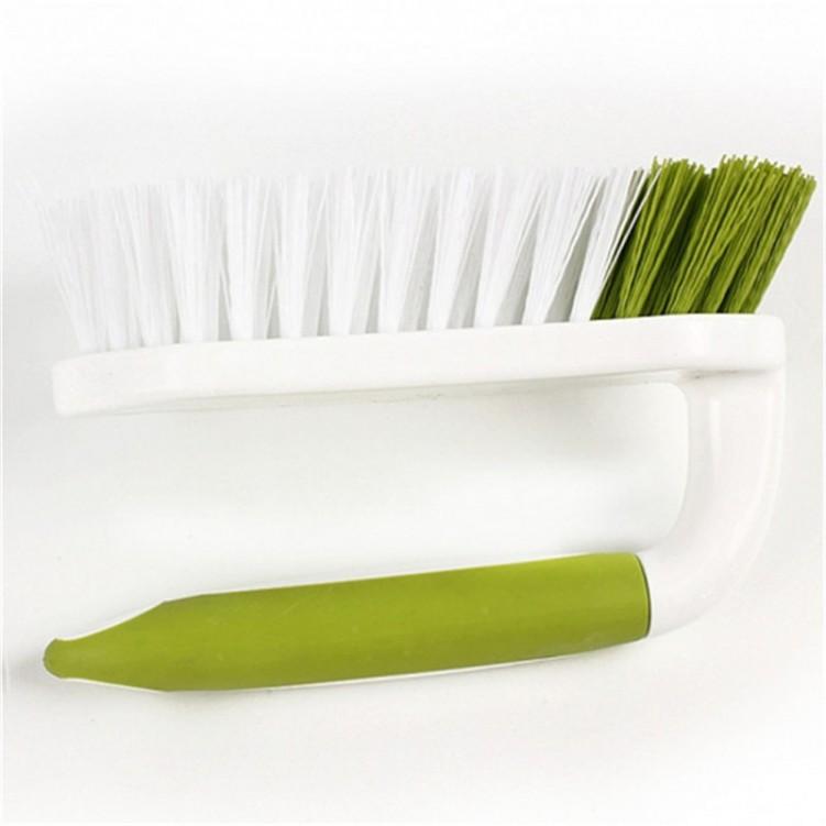 Plastic Long Handle Facial Scrub Brush