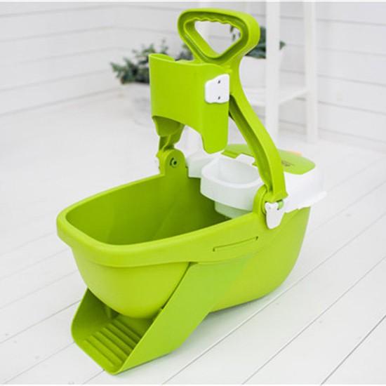 Flat Mop Bucket Set Green