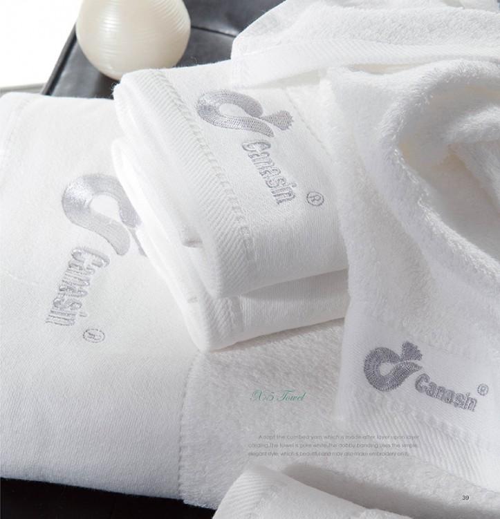 Luxury Bathroom Hotel Face Towel