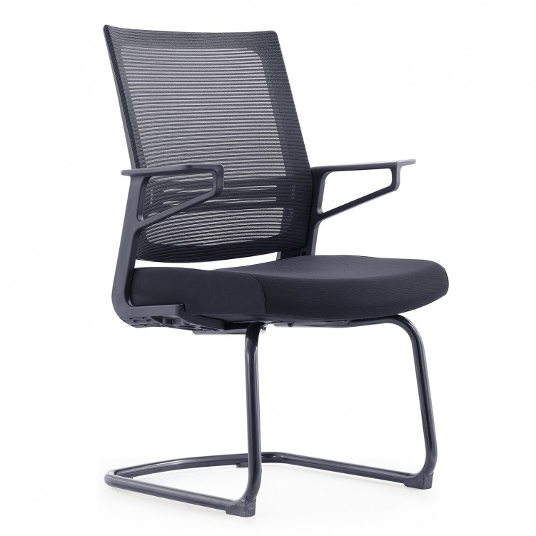 Conference Chair, Black Mesh Sponge CH-198C
