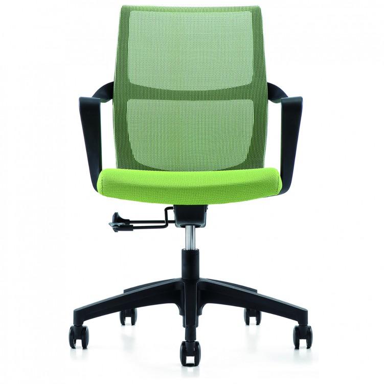 Office Chair, Black Mesh CH-145B