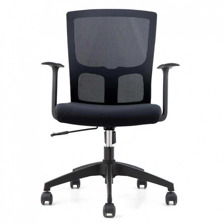 Office Chair, Black Mesh CH-183B