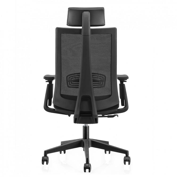 Office Chair, Black Mesh CH-203A-LP