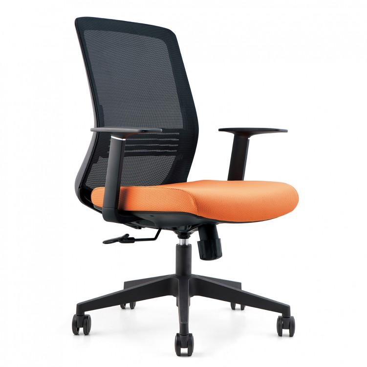 Office Chair, Black Mesh Molded Foam  CH-178B