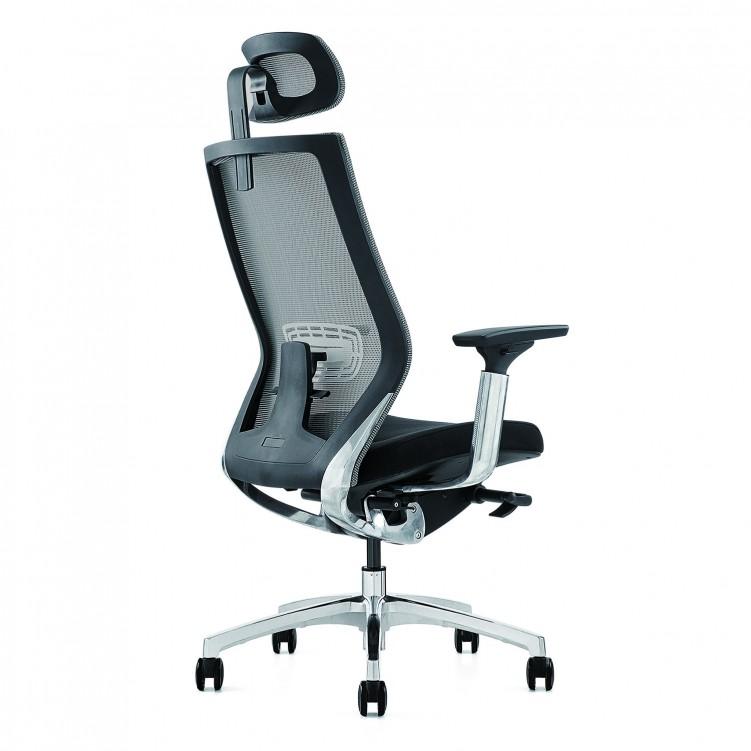 Office Chair, Black Mesh Sponge CH-150A