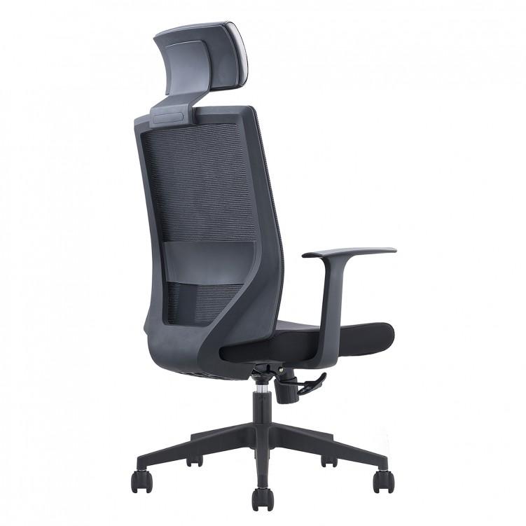 Office Chair, Black Mesh Sponge CH-220A