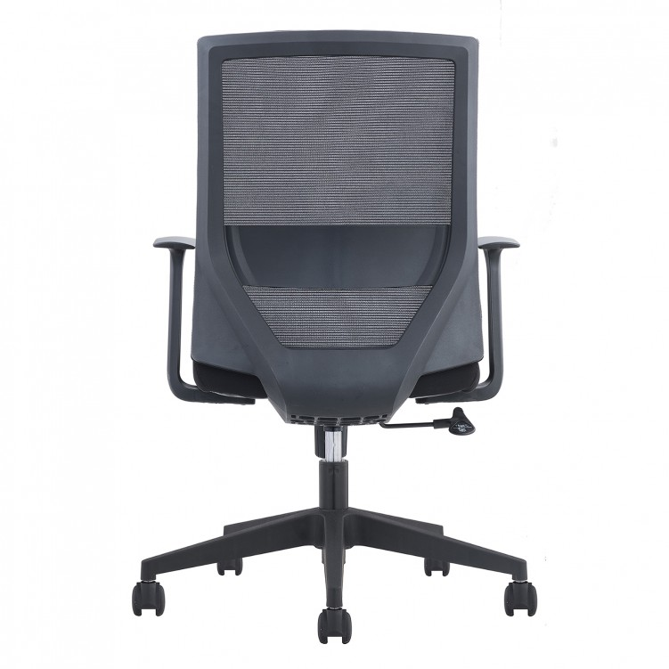 Office Chair, Black Mesh Sponge CH-220B