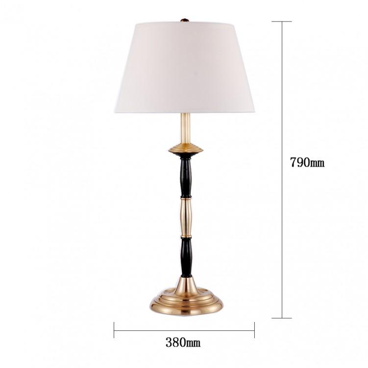 Calvin Patik Table Lamp, High quality, Copper, CT1004-1BBN