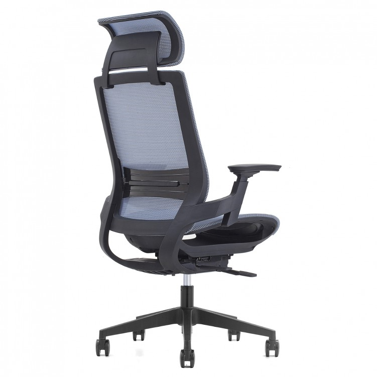Office Chair, Black Mesh EEM-001A