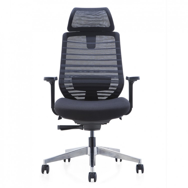 Office Chair, Black Mesh Sponge ESP2-001A
