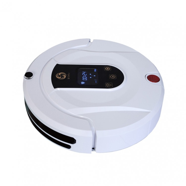 Robot Cleaner White Red Yellow Pink Golden