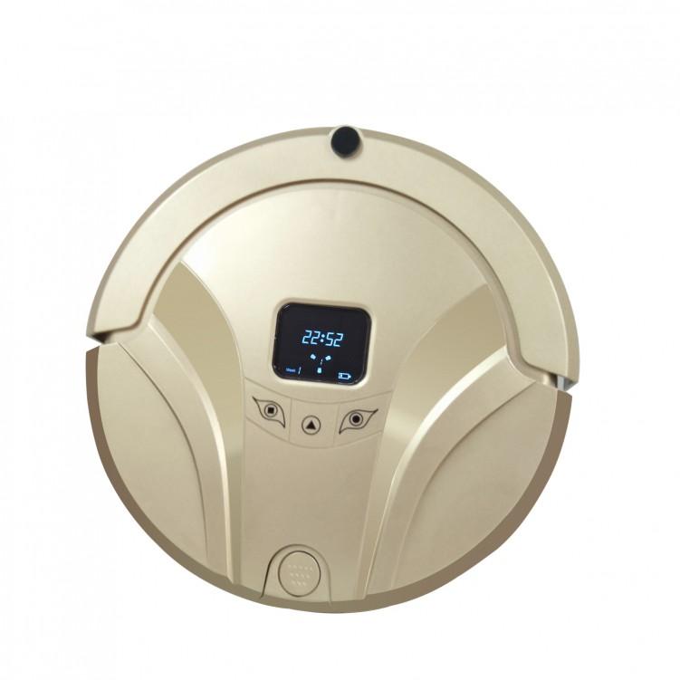 Robot Cleaner Black Golden