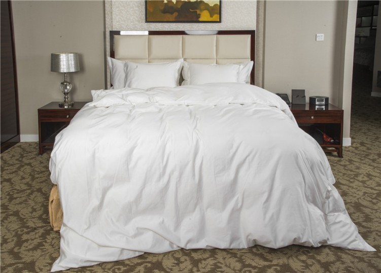 Comfortable Hotel Goose Down Quilt White