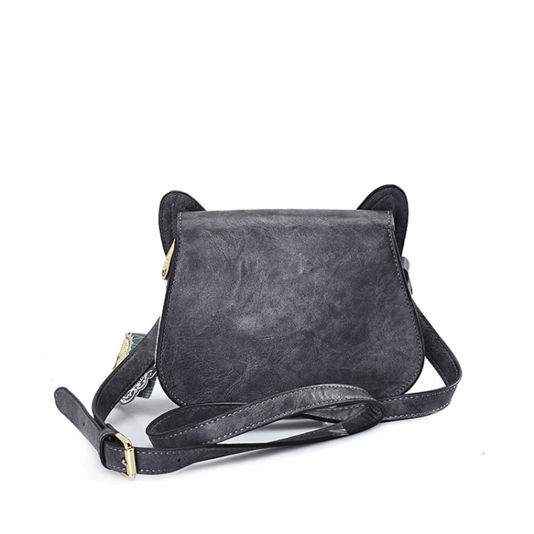 HUAMUMA Small Bag Dark Gray Dog HM16C1184