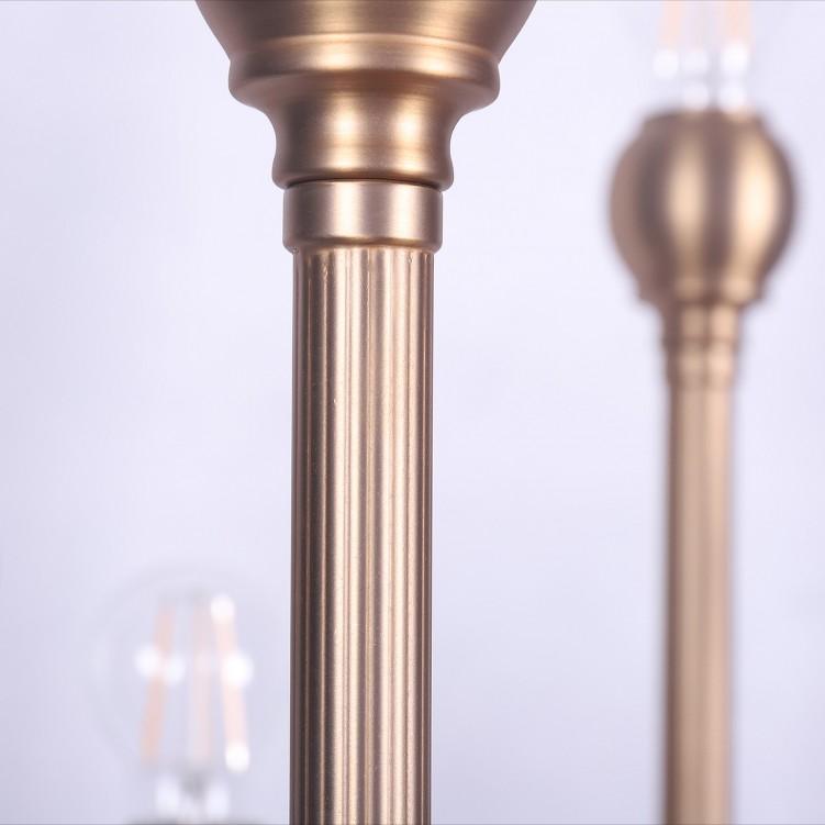 American Style 6-headed Standing Floor Lamp