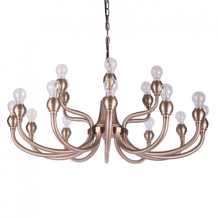 European Style Luxury Gold Ball Pendant Light