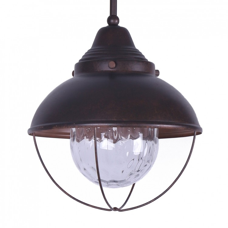 Industrial Style Single-Headed Metal Pendant Light with Chain