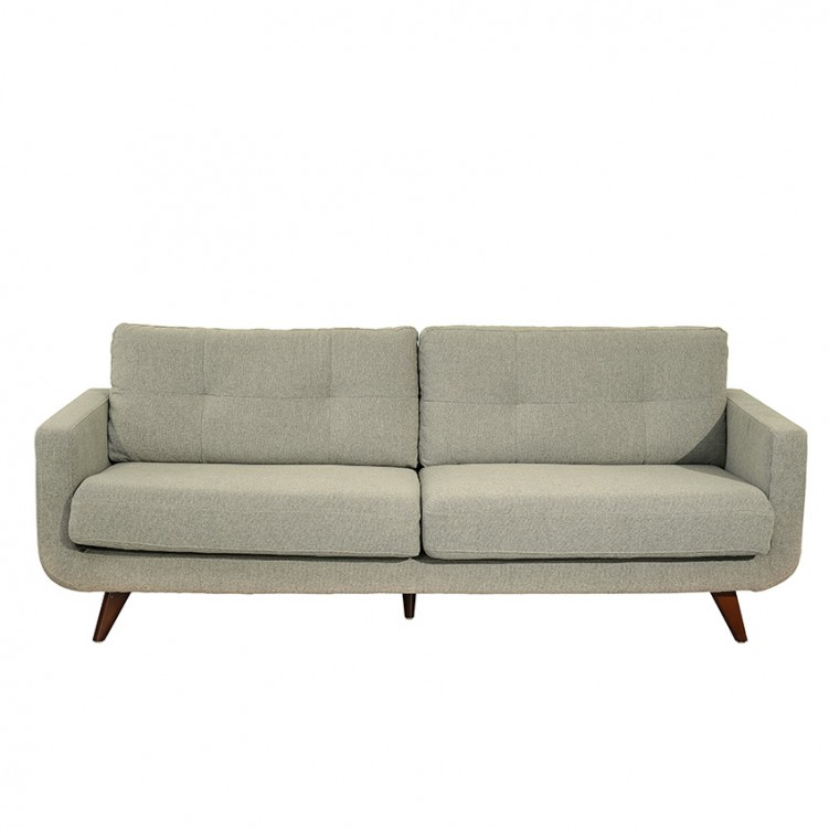 LESSO HOME Gray Fabric Sleeper Sofa Set