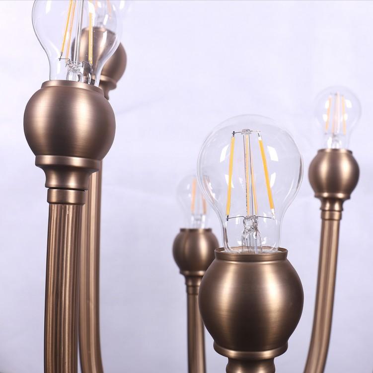 Traditional Matt Paper Table Lamp