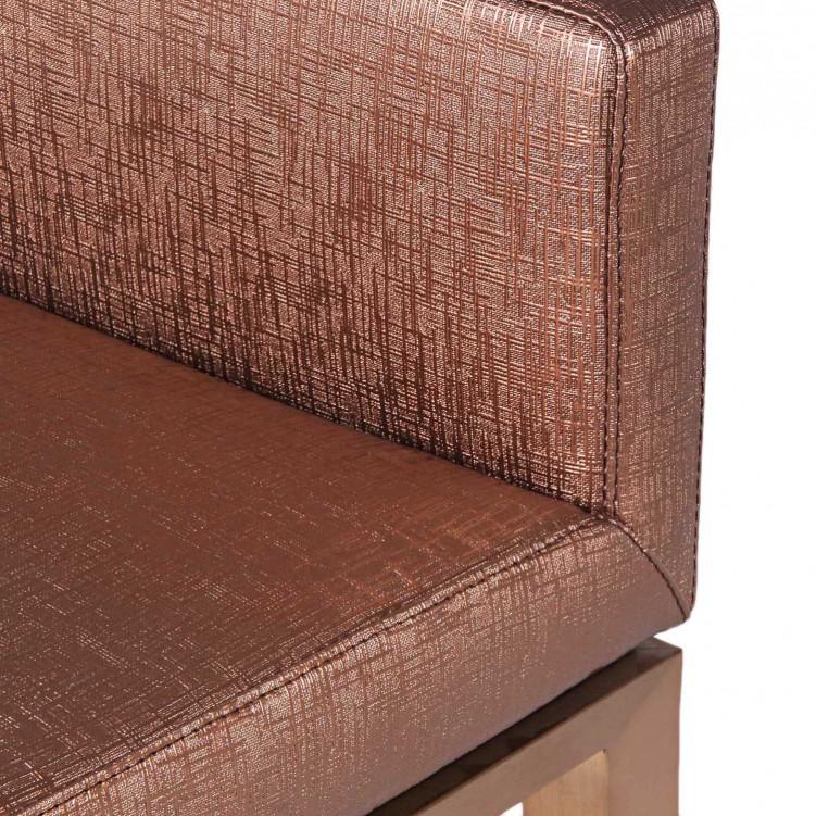 Cooper Leather Low Back Short Bar Stool