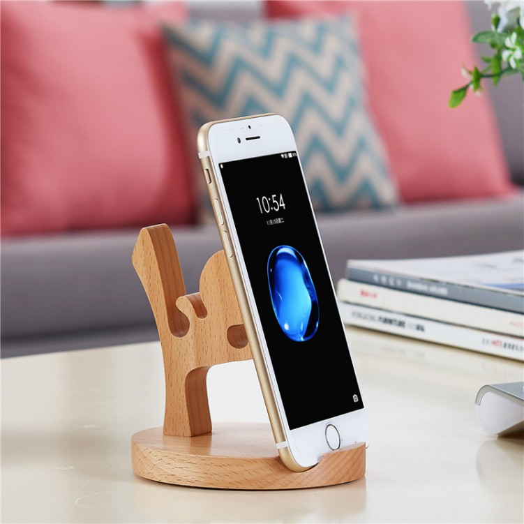 Mobile Phone Stander Kongfu Boy Shape