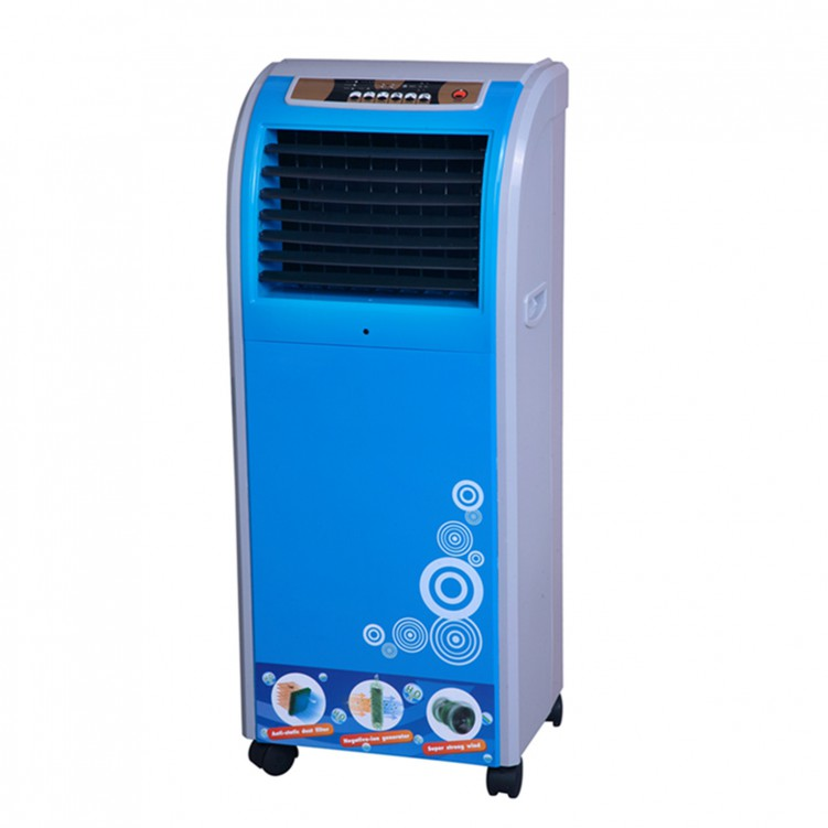8L Remote control Evaporative Air Cooler Blue
