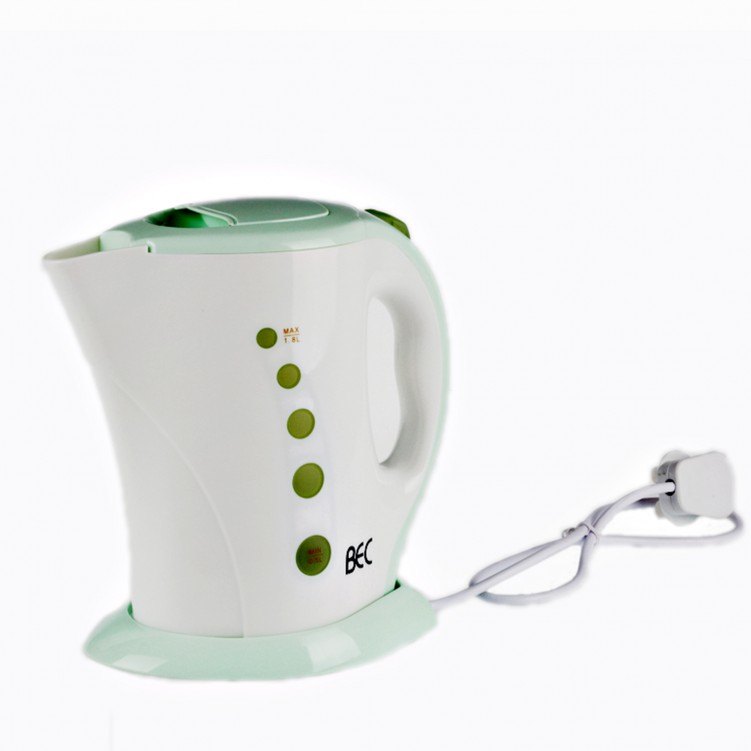 Electric Kettle with Water Level Scale 1800w Fluorescent green