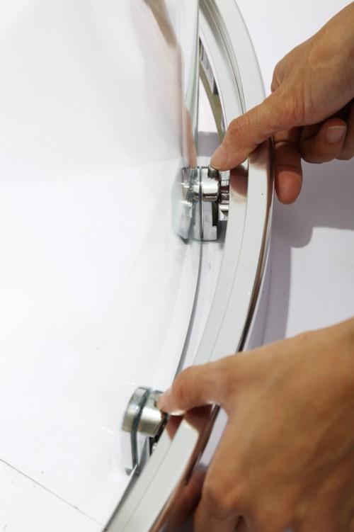 Sector Sliding Aluminium Frame Set Turkish Shower Cabin