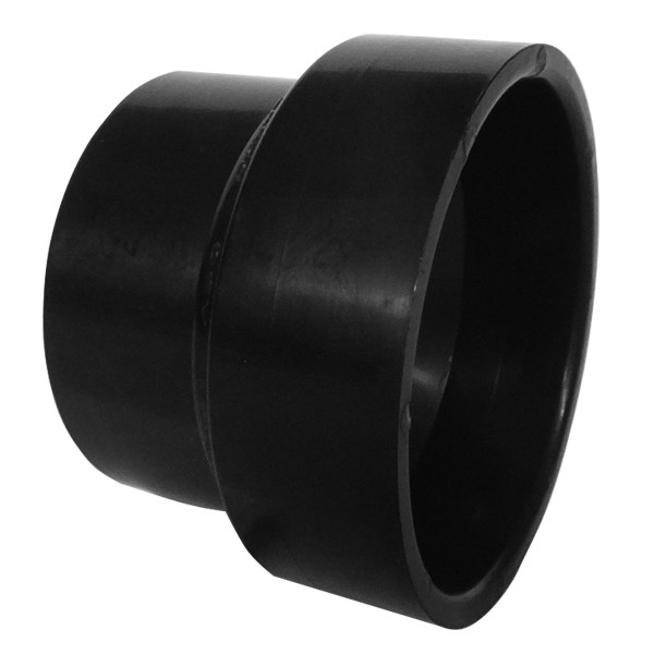 ASTM ABS DWV Pipe Increaser-Reducer Black