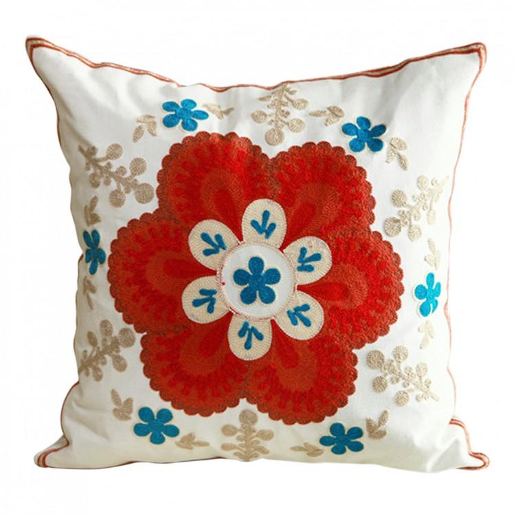 Embroidered High-grade Pillowcase
