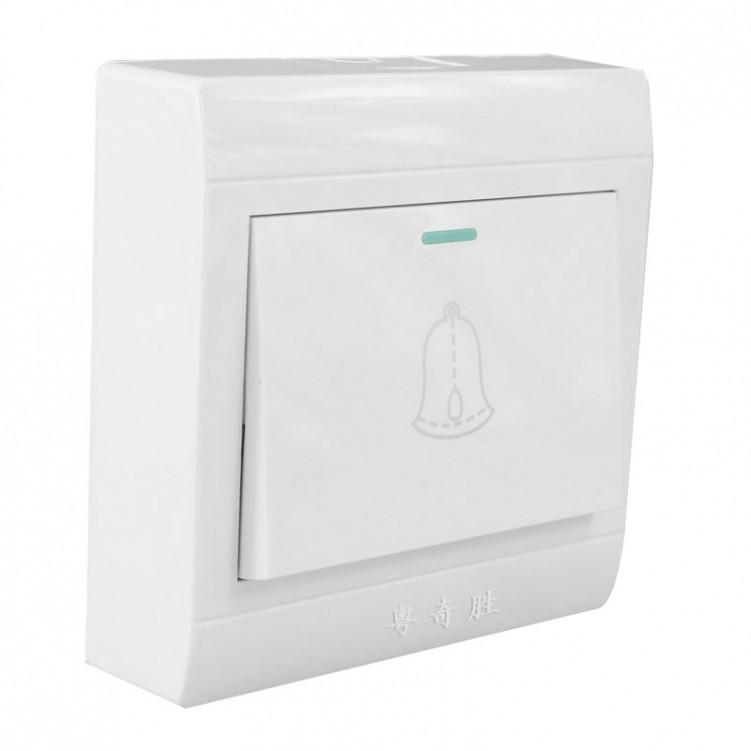 1 Way Big Plate Doorbell Switch