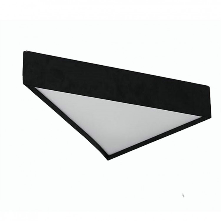 Nordic Modern Triangle LED Office Ceiling Lamp
