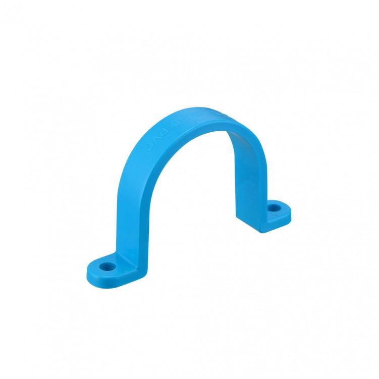 TIS PVC-U Water Clamp Blue
