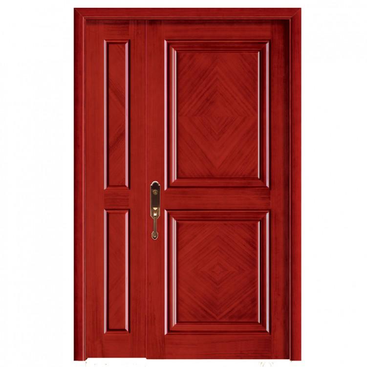 LESSO Wood Veneer Entry Door