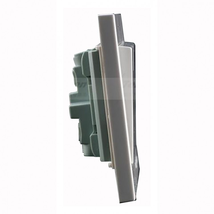 1 Gang/1 Way Switch with Fluorescent Plate 16A
