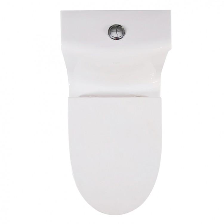 EAGO Factory Direct One Piece Ceramic Dual Flushing Toilet