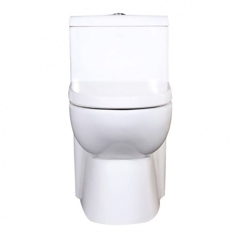 EAGO Factory Direct One Piece Ceramic Dual Flushing Toilet