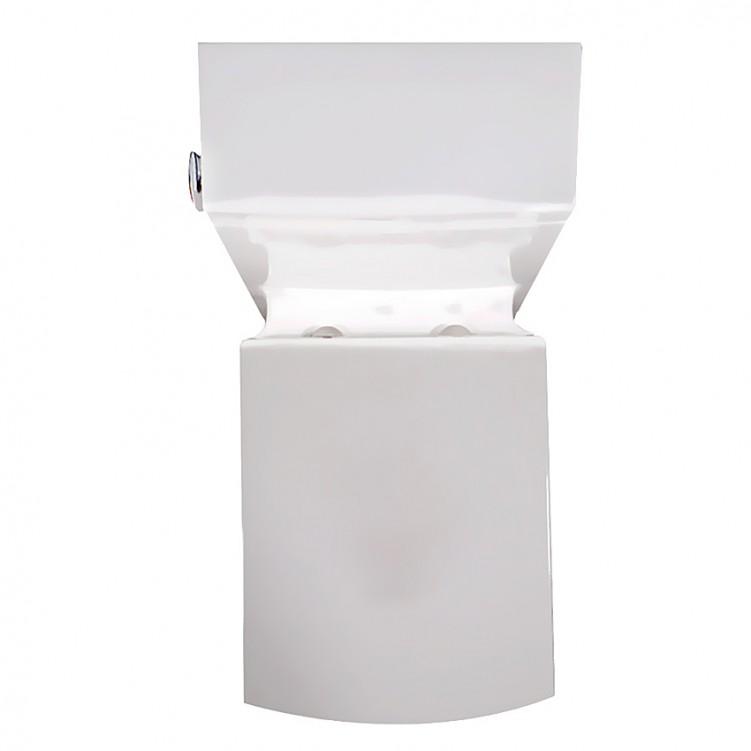 EAGO Fashion Watersense UPC Ceramic One Piece Square Toilet