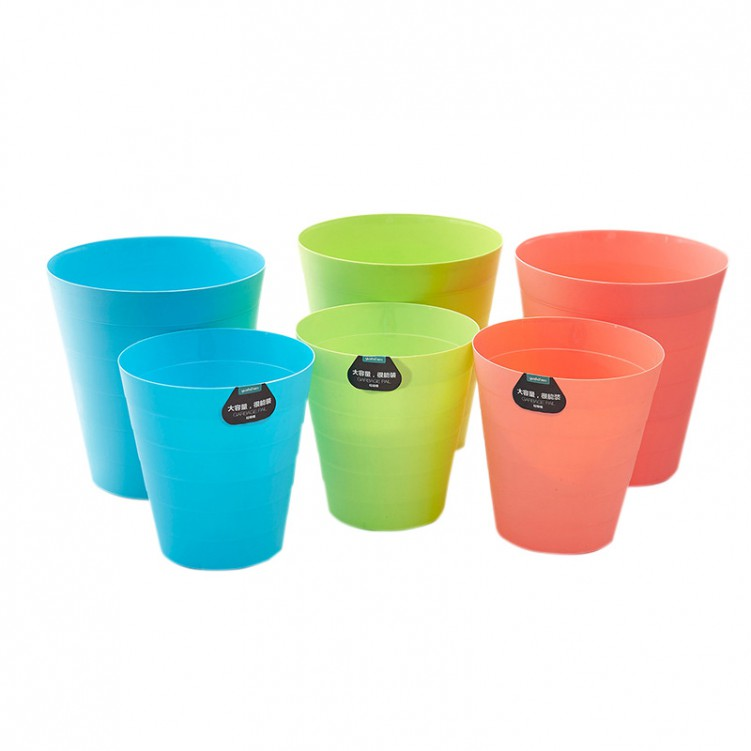 PP Plastic Indoor Trash Can (Large)