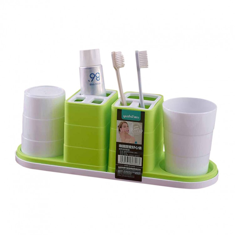 Toothbrush Holder with Cup