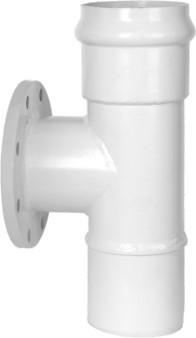 Reducing Tee PVC-U Water Steel Gasketed