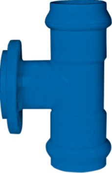 Tee (GXGXF ) PVC-U Water Gasketed